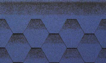 Битумная черепица Kerabit K+ Сине-черный в Чернигове