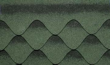 Битумная черепица Kerabit S+ Зелено-черный в Чернигове