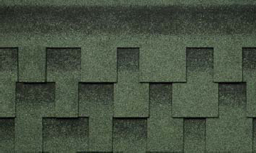 Битумная черепица Kerabit L+ Зелено-черный в Чернигове