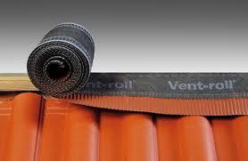 Коньковая вентиляционная лента Vent Roll
